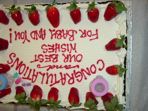 The Cake-Redux - (hehehe I like it upside down!!)